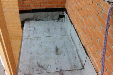 Гидроизоляция стен на балконе