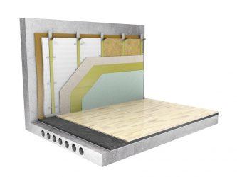 Звукоизоляция стен в доме с деревянными перекрытиями