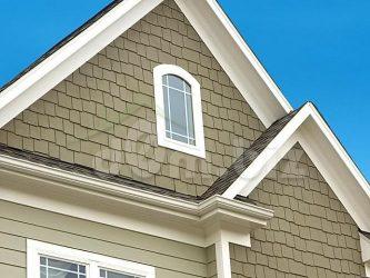 Материал для фронтона крыши